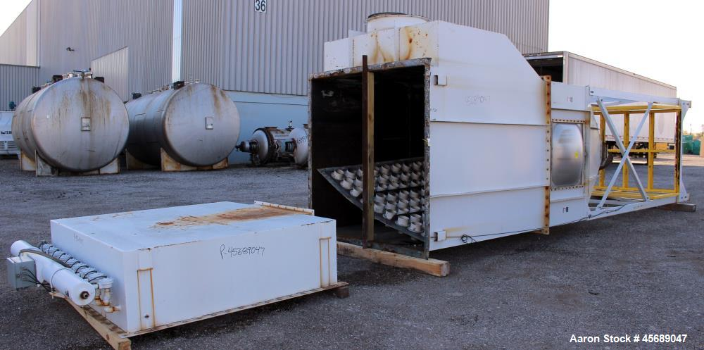 Used- MAC Equipment Pulse Jet Dust Collector, Model 120LVS81, Carbon Steel. Approximately 1345 square feet filter area. Hous...