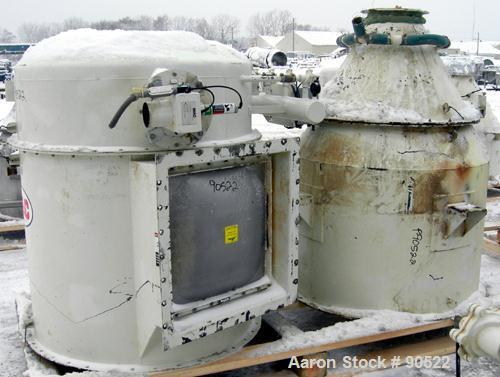 Used- Carbon Steel Pulse Jet Filter, Model 36AVR21
