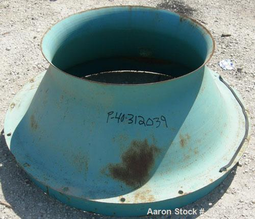 Used- Carbon Steel MAC Pulse Jet Dust Collector, Model LSTCSPCL
