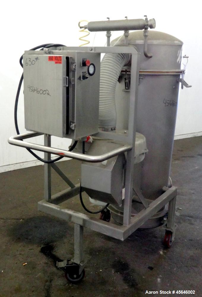 Used- Marchant Schmidt Portable Sanitary Dust Collection System, Model SDC1300