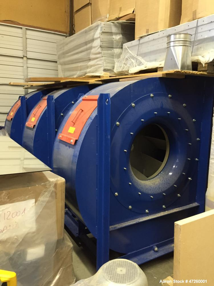 Used- IMAS Aeromeccanica Dust Collector, Model MC245. Automatic discharge by screw. 0.55 KW-6poles 230/400 V  50 Hz. 900-110...