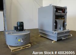 Used- Airex Wetrex Series Wet Dust Collector, Model Wetrex-10, Carbon Steel.