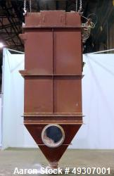 Used- Micro-Pulsaire Pulse Jet Dust Collector, Model 64S-8, Carbon Steel.
