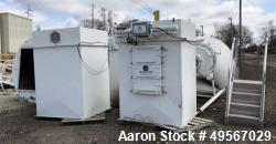 Used-Schick Bin Loading / Dust Collector.  Epoxy line Bins / Pulse type Dust Collectors.  With Live Bottom Bins.