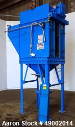 Used- W. W. Sly Pulse-Cleaned Cartridge Dust Collector, Model 3CF12