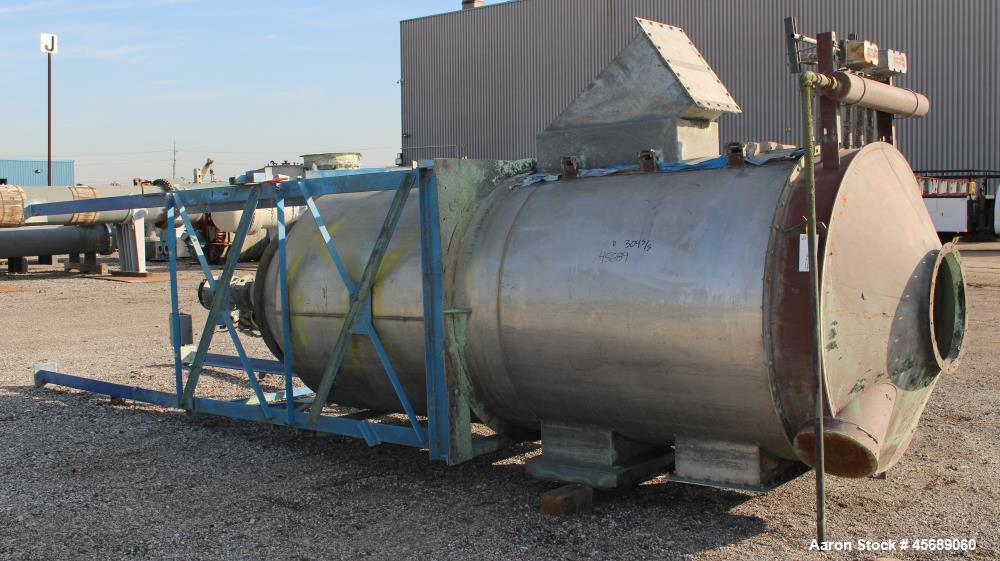 Used- Mikro-Pulsaire Pulse Jet Dust Collector, Model 55-10-100