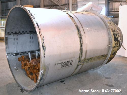 Used- Stainless Steel Mikro-Pulsaire Pulse Jet Dust Collector, Model 69-8-35C