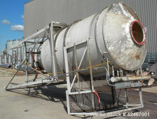 Used- Mikro-Pulsaire Pulse Jet Dust Collector, Model 69-8-40, Carbon Steel. Approximately 650 square feet filter area. Housi...