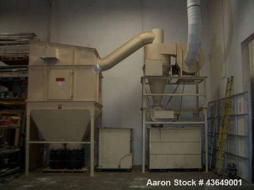 Used-Murphy Rodgers Dust Collection System. Includes Murphy Rodgers dust collector, model MARL-16; lower motor has 230/460 v...