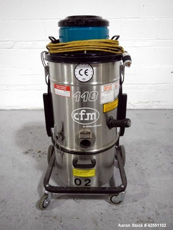 Used- Nilfisk Vacuum, Model 118AXX