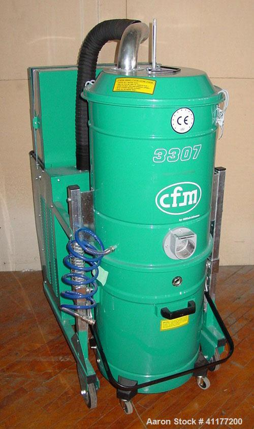 Used- Nilfisk-Advance Portable Industrial Vacuum Cleaner, model CFM3307,        carbon steel. 26 gallon tank capacity, 286 c...