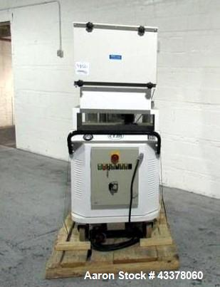Used- Nilfisk CFM vacuum, model 3707/10 ACX, stainless steel receiver, 8.7 kw, portable design, serial# 08AC079.