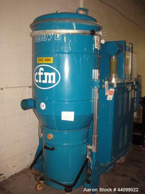 Used- Nilfisk industrial vacuum cleaner, model 3997 AC, approximately 66 sq ft surface area, 23 kw blower, 440V, 3 phase, po...