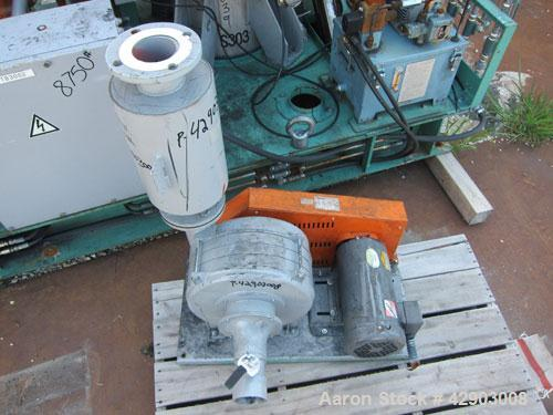 Used- Nippon Pneumatic Pulse Jet Dust Collector, Model PBF-20