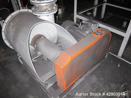 "Used- Nippon Pneumatic Pulse Jet Dust Collector, Model PBF-40, 430 Square Filter Area. Carbon steel housing 52"" wide x 52"" l..."
