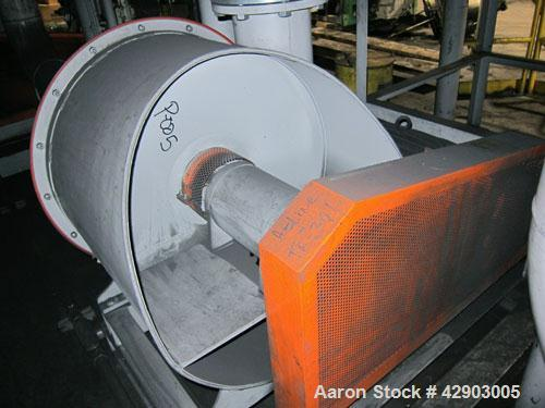 "Used- Nippon Pneumatic Pulse Jet Dust Collector, Model PBF-50, 538 Square Filter Area. Carbon steel housing 60"" wide x 60"" l..."