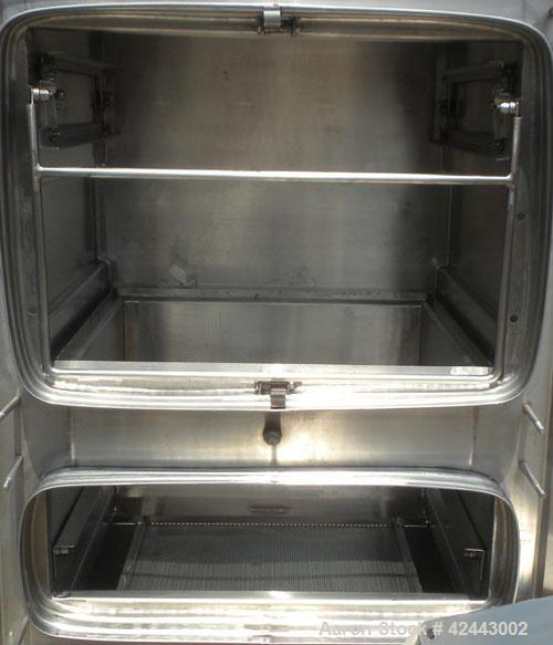 Used- Flanders/CSC Corporation BF Series Gel Seal Bag-In/Bag-Out Containment Filter Housing, model BF1-1H1W-4GGF-316-D3, 316...
