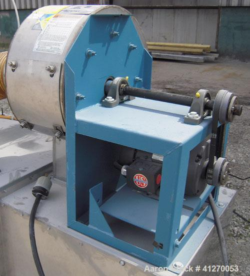 """Used- Plymovent Cartridge Type Dust Collector, model BM-2, carbon steel. Housing 31"""" wide x 41"""" long x 45"""" tall x coned bott..."""