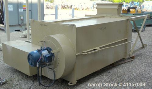 """Used- N.R. Murphy Manual Shaker Dust Collector, model MKAW-340-2D, 340 square feet filter area. Carbon steel housing 50"""" lon..."""