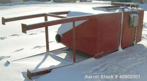 """Used- Pulse Jet Dust Collector, approximately 160 square feet filter area. Carbon steel housing measures 40"""" x 40"""" x 70"""" str..."""