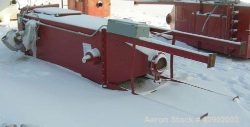 """Used- Pulse Jet Dust Collector, approximately 140 square feet filter area. Carbon steel housing measures 32"""" x 32"""" x 102"""" st..."""