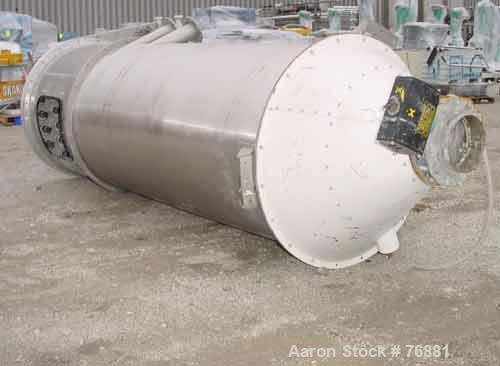 Used- Reimelt Dust Collector, Model EIL1273P52, Stainless Steel. Approximately 435 square foot filter area. Housing measures...