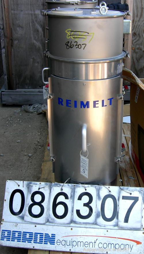 Unused-UNUSED: Reimelt bin vent dust collector, model Jet Filter, stainless steel. Approx 12 square feet filter area. Housin...