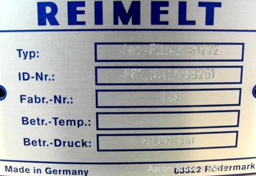 Used-Unused- Aluminum Reimelt Bin Vent Dust Collector,  Model Jet Filter
