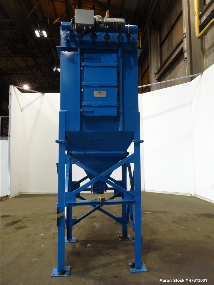 Used- Sly SBR Tube-Jet Dust Collector, Model SBR-66-4, Carbon Steel.