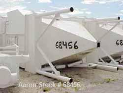 """Used- Specialty Engineering Pulse Jet Dust Collector, approximate 1306 square foot filter area, carbon steel. 126"""" straight ..."""