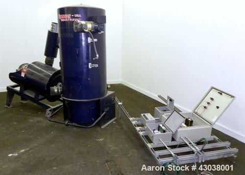 Used- Spencer Turbine Series B Industravac Stationary Vacuum System, Model SB-620B, Carbon Steel. Consists of: (1) Multi-sta...