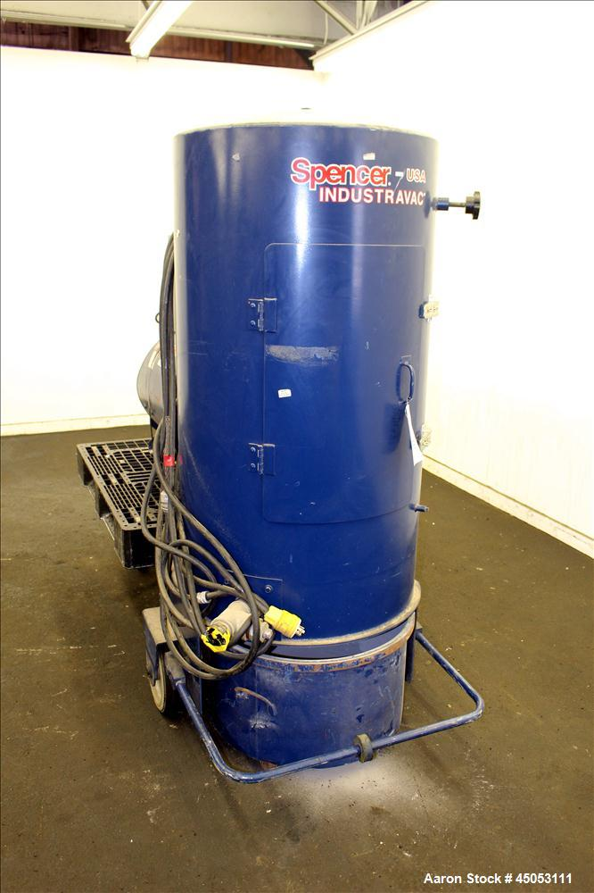 Used- Carbon Steel Spencer Turbine Industravac Portable Vacuum System