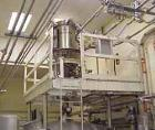 USED:Dust collector, 316 stainless steel. (7) 5