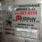 Used-NR Murphy, Model HEC 97-8, Dust Collector, 304 Stainless Steel.  Pulse type.  Shaker type, (97) 5