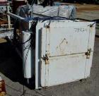 Used- Kinetic Air Pulse Jet Dust Collector, Model 16RT36M, 75 Square Foot Filter Area. Stainless steel housing measures 34