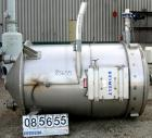 Used- Stainless Steel Reimelt Dust Collector, Model 9507-RH-1201