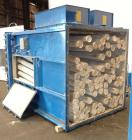 Used- Torit Pulse Jet Dust Collector, 890 Square Feet, Model 81PJD8, Carbon Steel. Housing measures 70