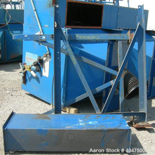 Used- Torit Downflo Pulse Jet Cartridge Type Dust Collector, model 2DF24, carbon steel. Approximately 4560 square feet filte...