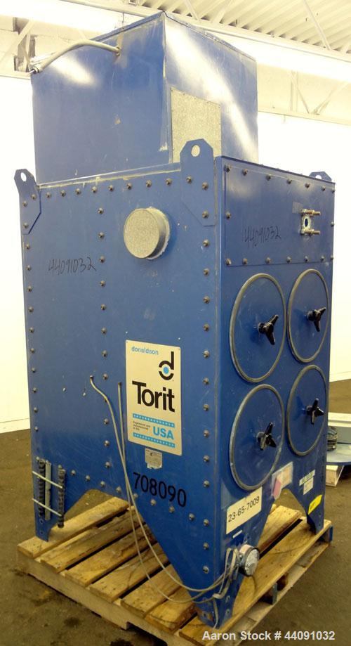 Used- Torit Downflo Cartridge Type Dust Collector, Model 2DF4, 1016 Square Feet Filter Area, Carbon Steel. Approximately 200...
