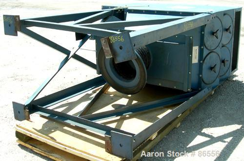 USED- Torit Downflo Cartridge Type Dust Collector, Model 2DF8, 1808 Square Feet Filter Area, Carbon Steel. Rated 1800-3800 C...