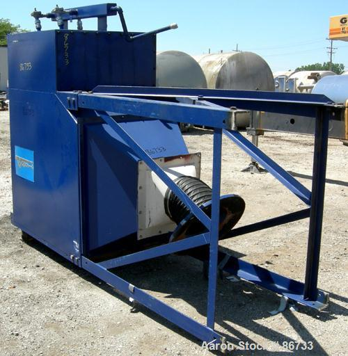 Used- Torit Downflo Cartridge Type Dust Collector, Model 2DF8, 1808 square feet filter area, carbon steel. Housing measures ...