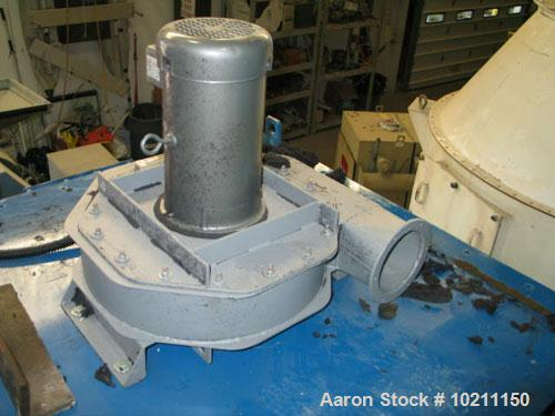 """Used-Torit Bag Type Dust Collector, Model 36PJD.  270 Square foot filter area, 30 bags measuring approximately 72"""" long.  Th..."""