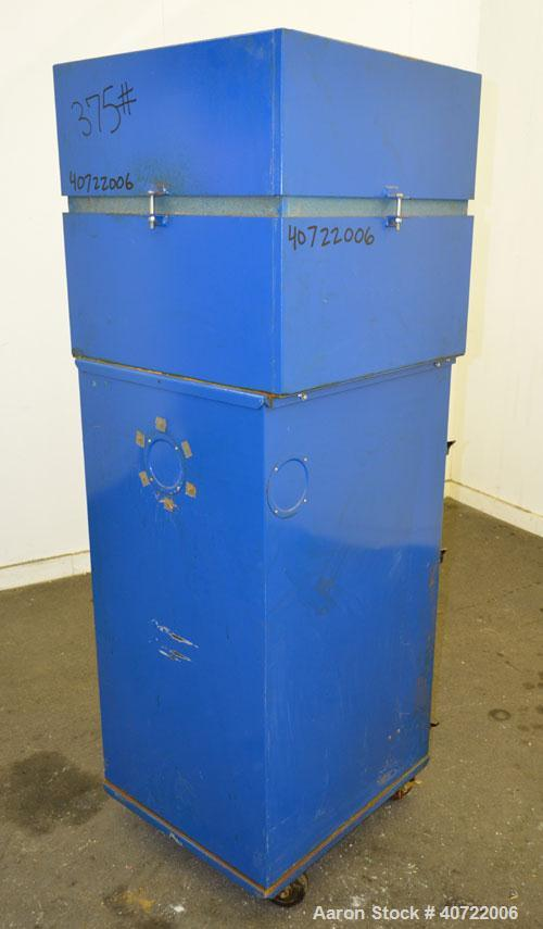 Used- Carbon Steel Torit Self-Contained Cabinet Type Dust Collector, Model 70 CA