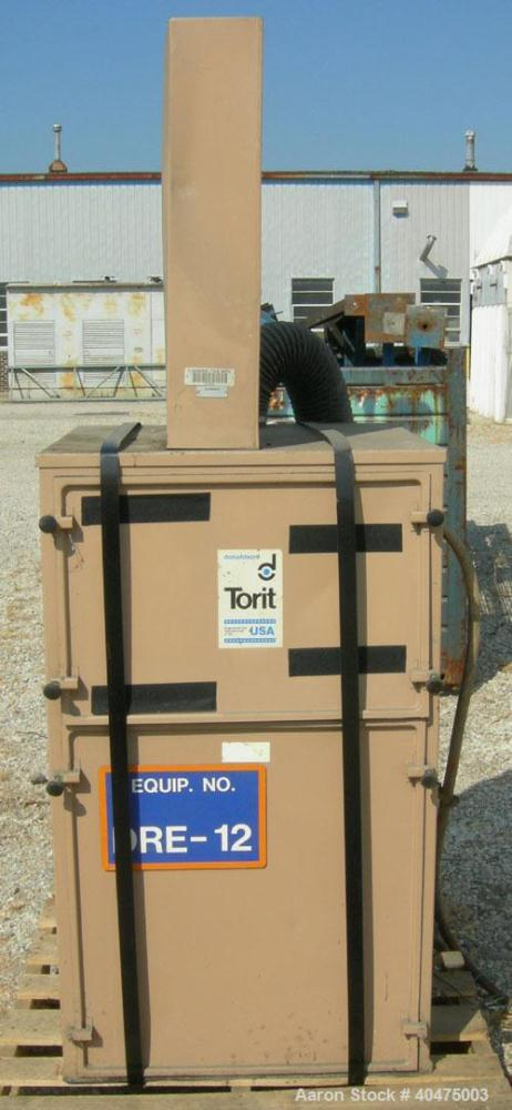 Used- Torit Self-Contained Cabinet Type Dust Collector, model 84, carbon steel. Envelope type filters providing 150 square f...