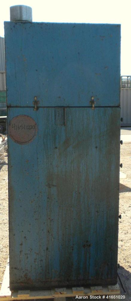 Used- Torit Self-Contained Cabinet Type Dust Collector, model 90-5 CAB, carbon steel. Envelope type filters providing 250 sq...