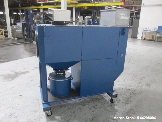 Used- Donaldson Torit Downflo Oval Dust Collector, Model DFO1-1. 190 Square feet filter area, 115 volt, 1.5hp motor, serial#...