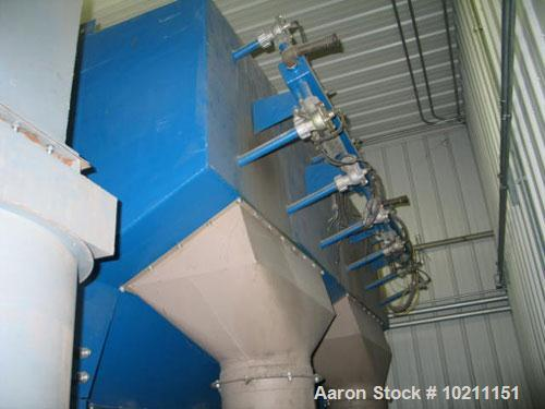 Unused-Torit Cartridge Dust Collector, Model DFT2-24. Approximately 6,144 square foot filter area, two module design. Approx...