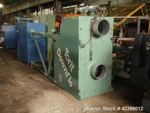 Used- Torit Downflo II Cartridge Type Pulse Jet Dust Collector, Model DFT2-8, Carbon Steel. 2032 Square feet filter area, no...