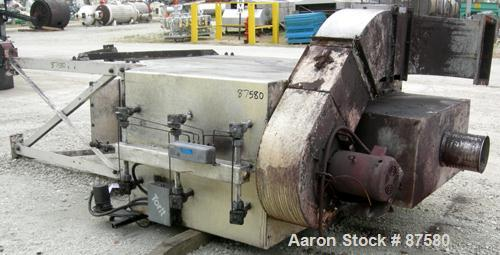 USED: Torit downflo cartridge type dust collecter, model DFT3-12. 2,280 square feet filter area, approximately 1,525 - 9,450...