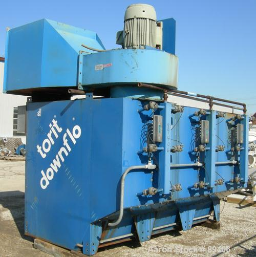 USED: Torit downflo cartridge type dust collector, model DFT3-36.  6,840 square feet filter area, 4, 570 - 	     28, 350 CFM...